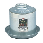 Little Giant Galvanized Waterer 2 gal.