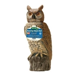 Dalen Natural Enemy Scarecrow Rotating-Head Owl