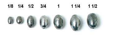 Eagle Claw 02050-004 Egg Sinkers Size 1-1//2 Ounce Pack of 2
