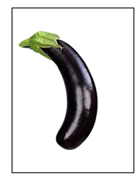 Eggplant Little Finger Long Green