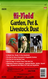 Hi-Yield Garden, Pet and Livestock Dust 4 lbs