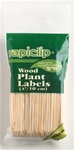 Luster Leaf Wood Plant Labels 4""